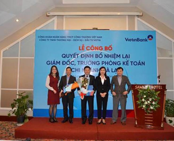Vietin Coseco công bố các quyết định về công tác cán bộ