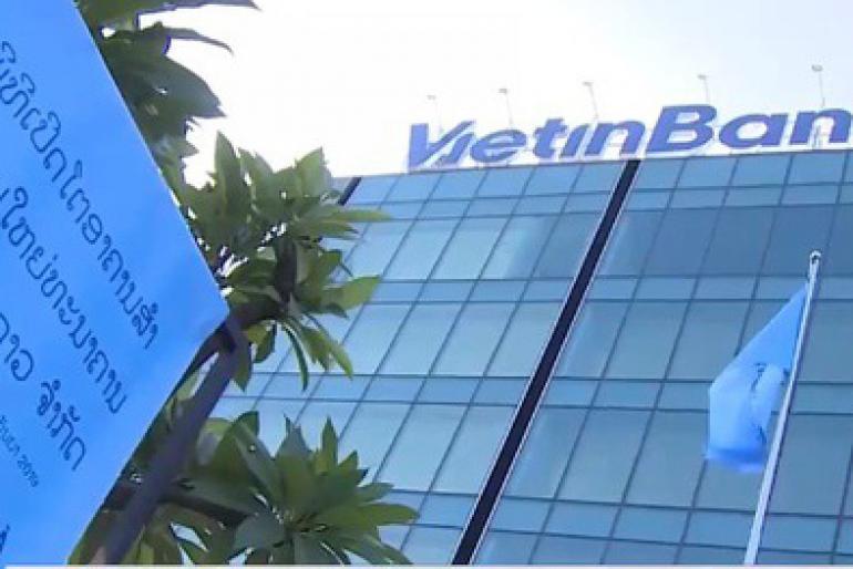 Tòa nhà văn phòng VietinBank Vientiane