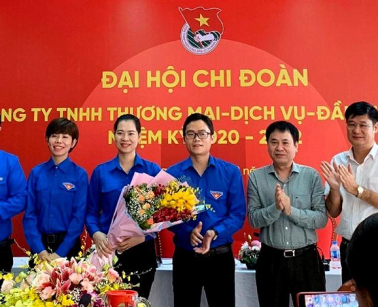 Công ty TNHH Thương mại - Dịch vụ - Đầu tư Vietin Đại hội Chi đoàn khóa I