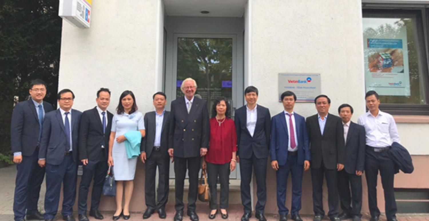 Business trip of VietinBank delegation to VietinBank German Branch and Europe, Aug 2018