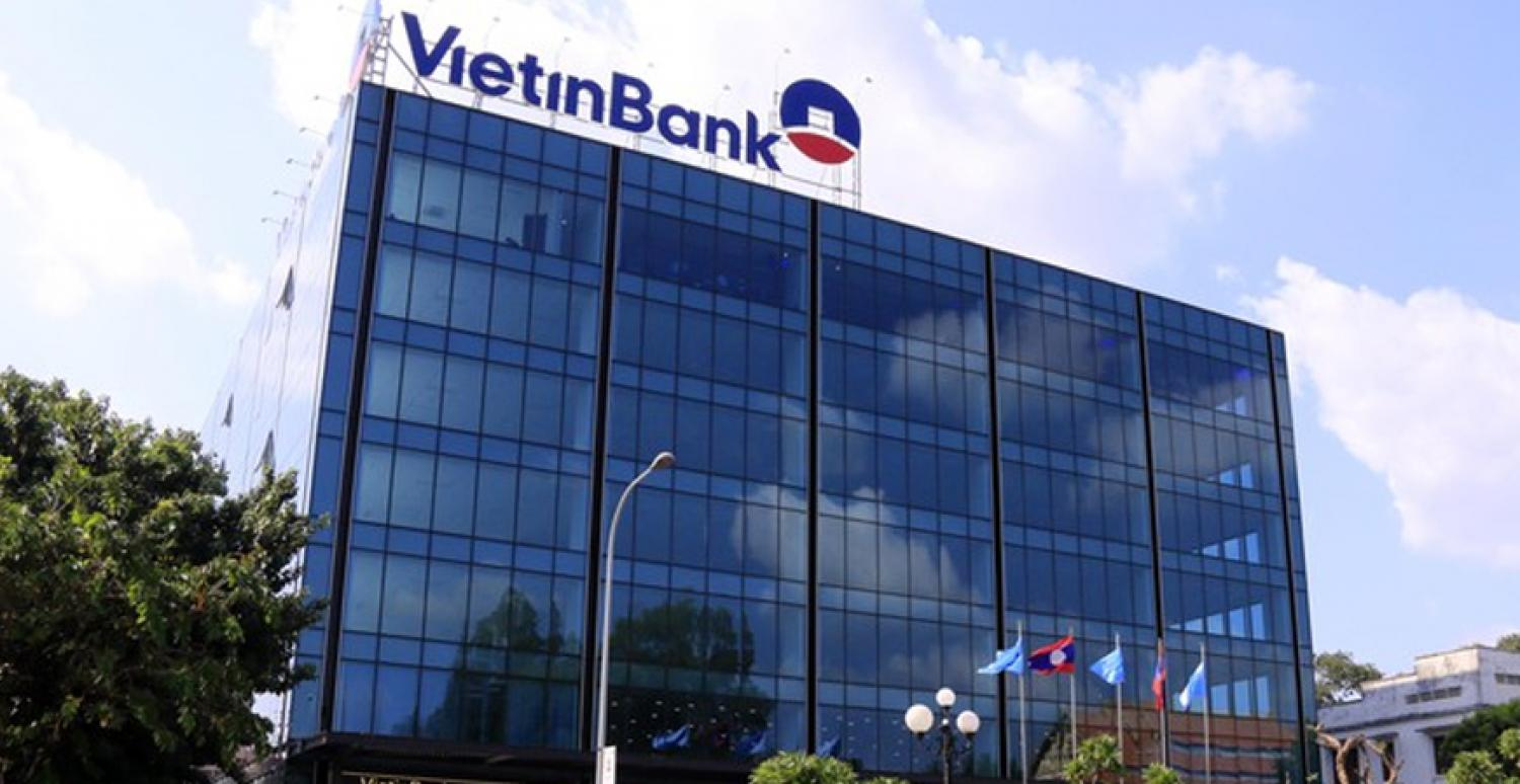 VietinBank Office Building in Laos