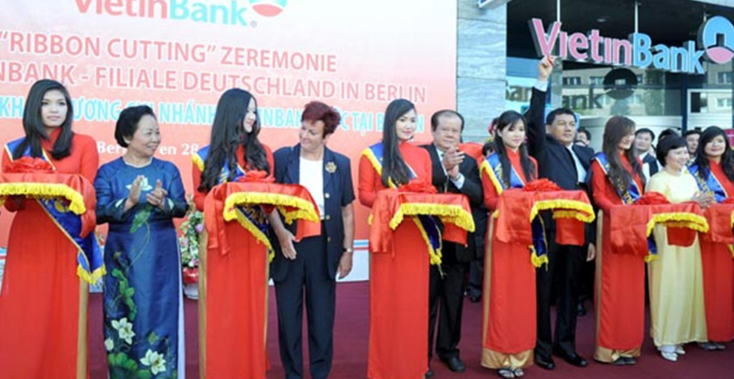 VietinBank German Branch Grand Opening in Berlin, May 2012