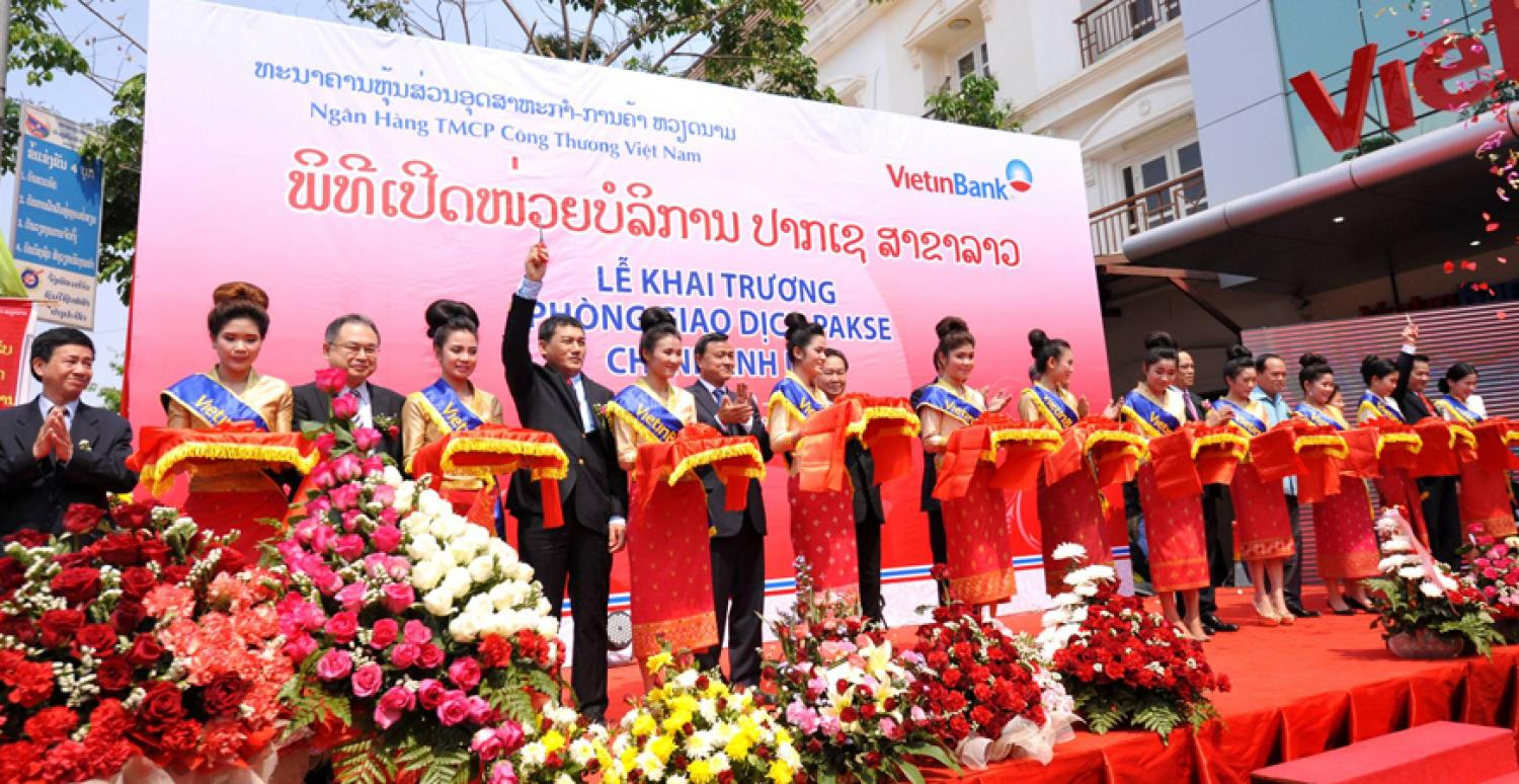VietinBank Vientiane Branch Grand Opening, Feb 2012