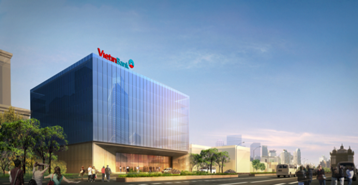 Operating and Leasing VietinBank Office Building in Laos